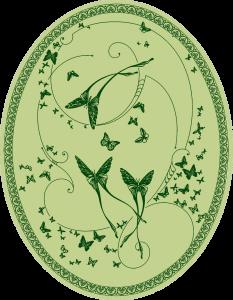 CО-196/8  Silver Butterflies (Butterflies)
