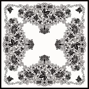 C-202/2 Flower Silence (Lace Fashion)