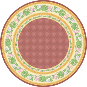 C-076 Touch of Beauty Rose Round (Paradise)