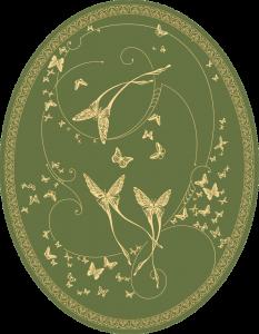 CО-196/1 Silver Butterflies (Butterflies)