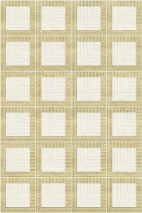 PD-136 Perfection White&Gold (Art Deco)