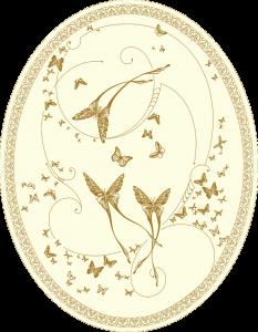 CО-196 Silver Butterflies (Butterflies)