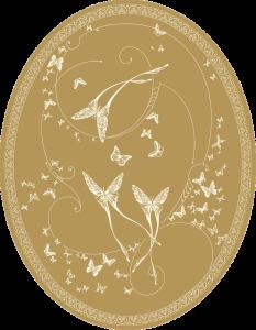 CО-196/5 Silver Butterflies (Butterflies)