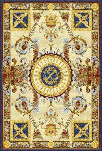 PD-235 Napoleon Empire Style (Копии антикварных ковров Savonnerie)